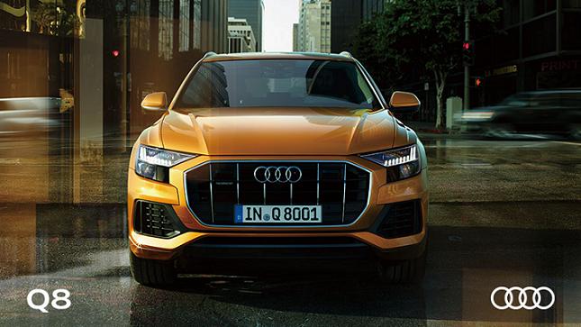 Audi Q8 フロントビュー